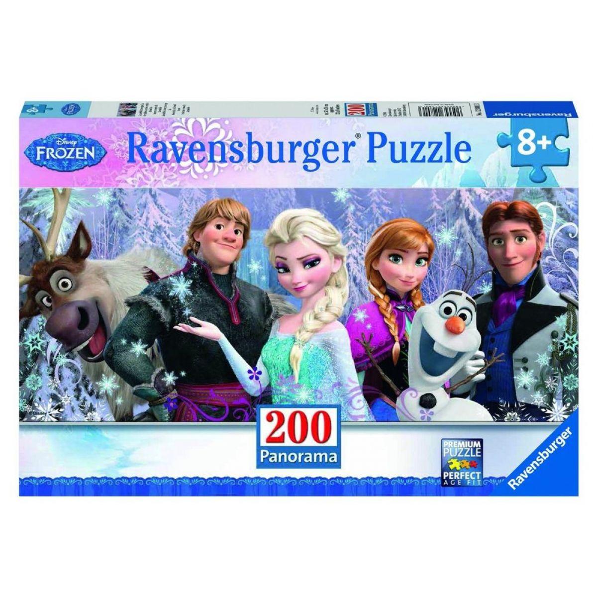RAVENSBURGER Ledové království: Věčná zima XXL 200 dílků