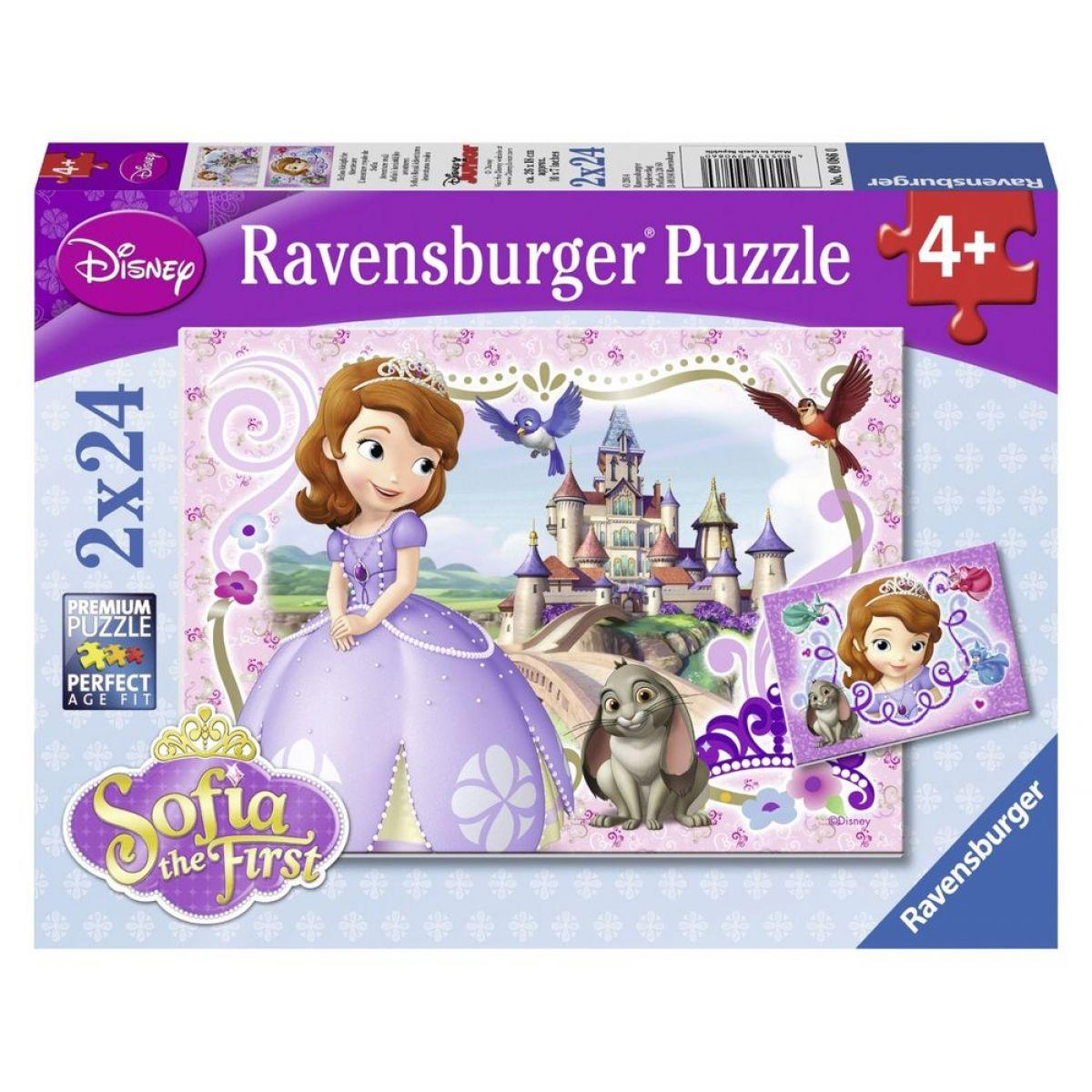 Ravensburger Disney Princezna Sofia 2 x 24 dílků