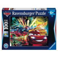 Ravensburger Cars XXL Autá Neónové svetlá 100 dielikov
