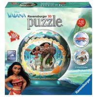 Ravensburger 3D Puzzleball 12266 Odvážná Vaiana 108 dílků