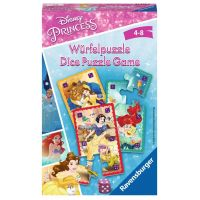 Ravensburger Hry 234516 Disney Princezné Kartičkové puzzle