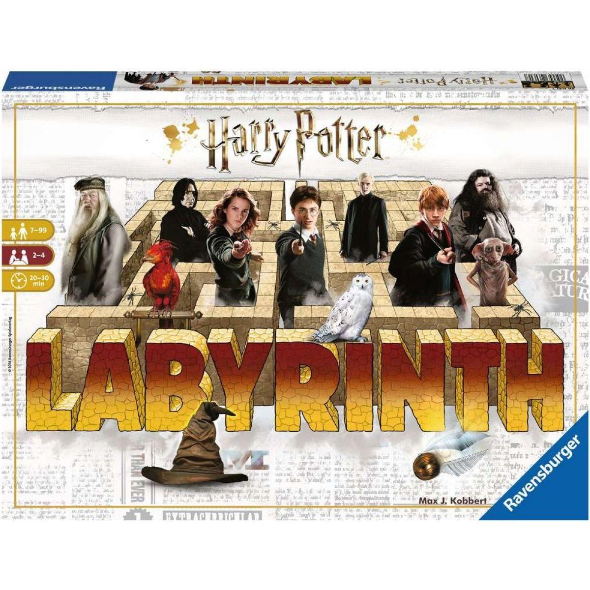 Ravensburger hry 260829 Labyrinth Harry Potter