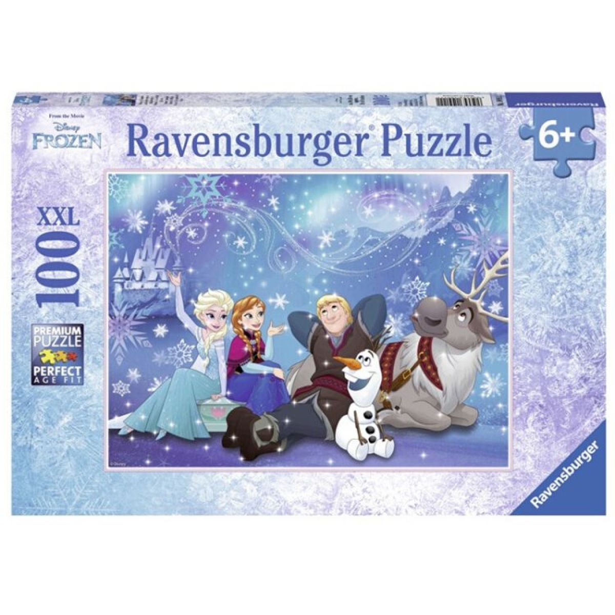 Ravensburger Ľadové kráľovstvo Puzzle 100 XXL dielikov