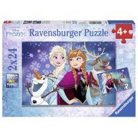 Ravensburger Ľadové kráľovstvo Puzzle 2 x 24 dielikov