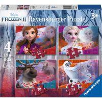 Ravensburger puzzle 030194 Disney Ledové království 2 4 v 1