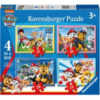 Ravensburger puzzle Tlapková patrola 4 v 1