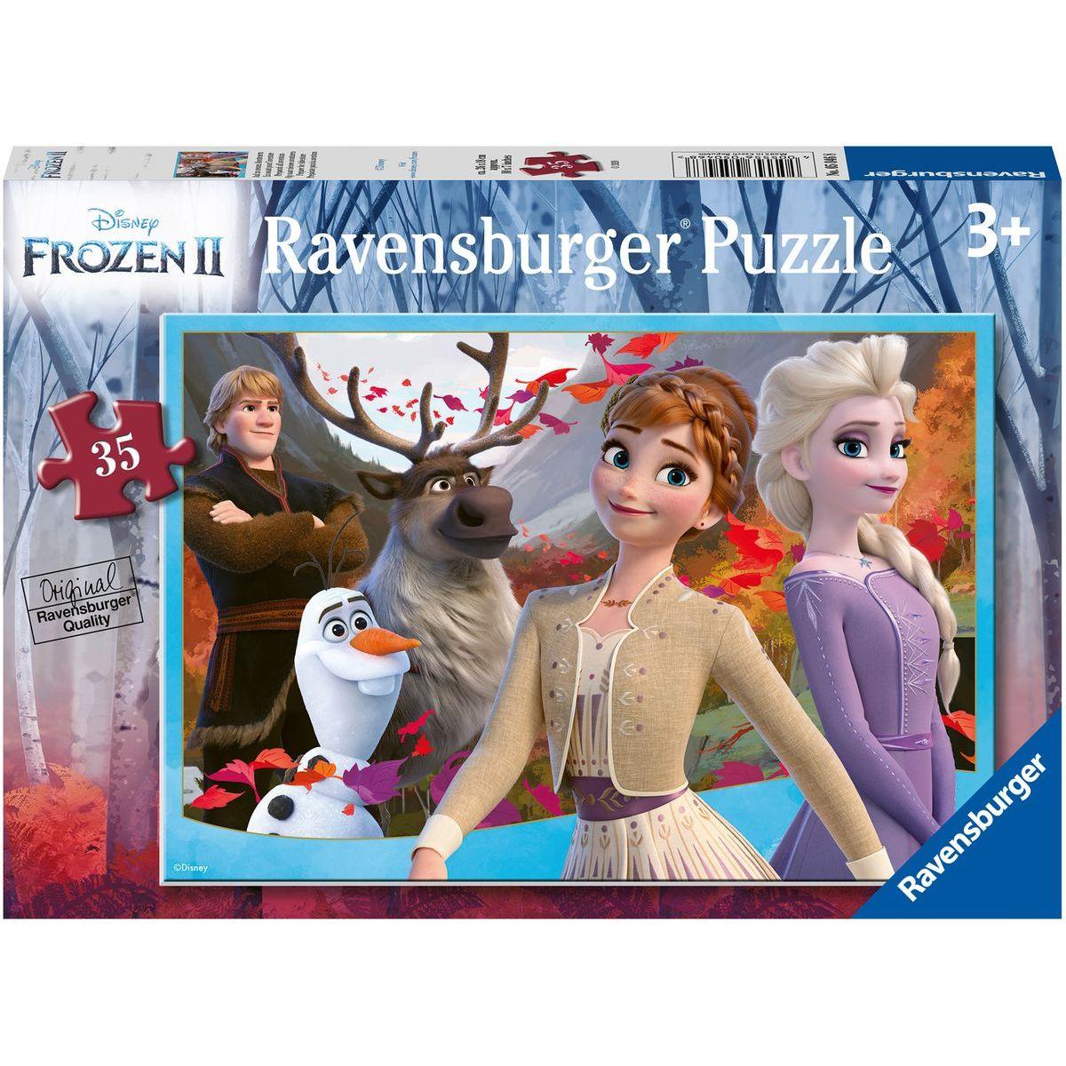 Ravensburger puzzle 050468 Disney Ľadové kráľovstvo 2 35 dielikov