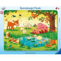 Ravensburger puzzle 050758 Zvieratká 42 dielikov