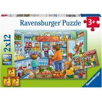 Ravensburger puzzle 050765 V obchodě 2x12 dílků