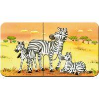 Ravensburger 069439 Zvířecí rodinky 9x2 dílků 5