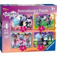 Ravensburger puzzle 069736 Vampirina 4 v 1