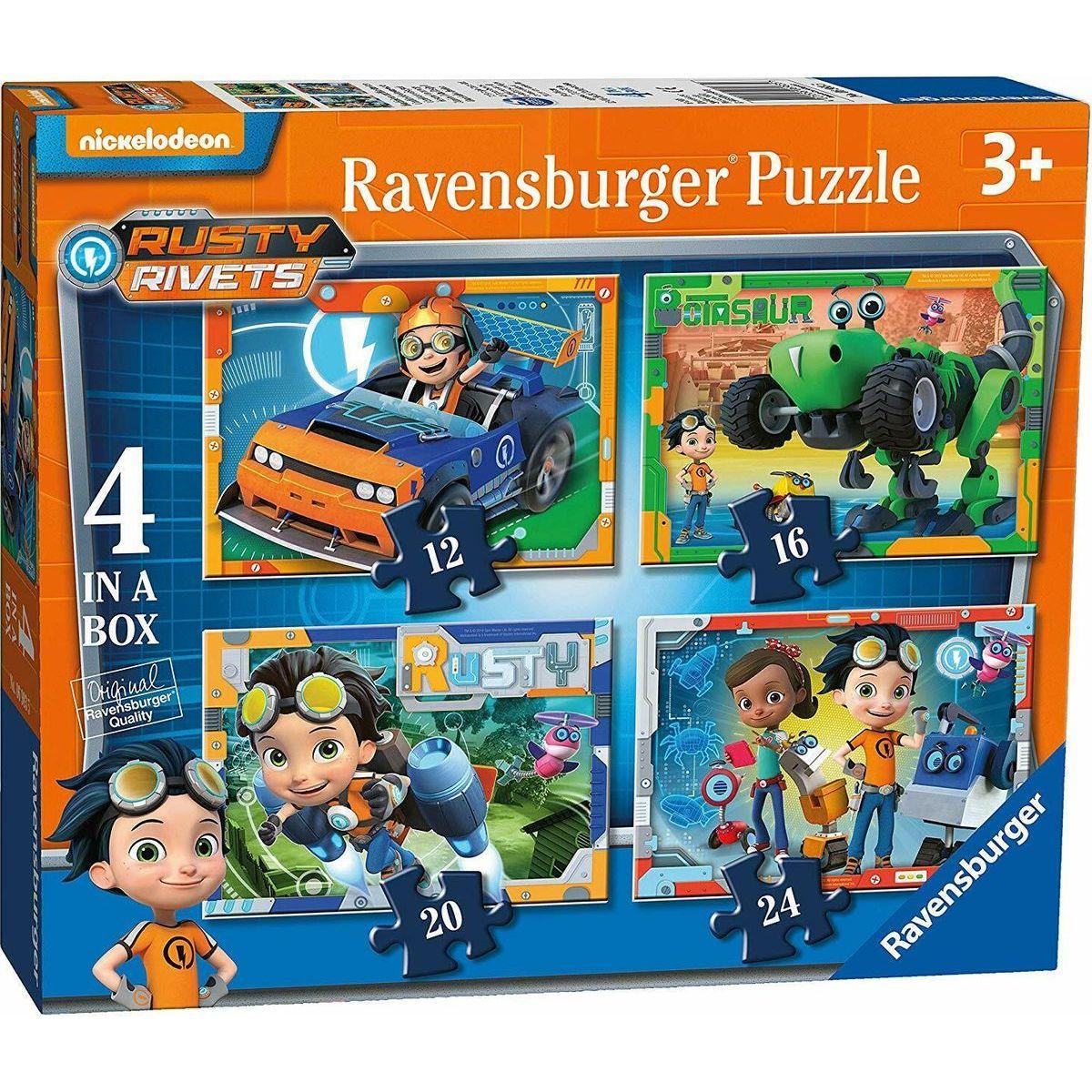 Ravensburger puzzle 069835 Rusty Rivets 4 v 1