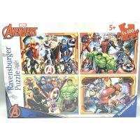 Ravensburger puzzle 070794 Marvel Avengers set 4x100 dielikov