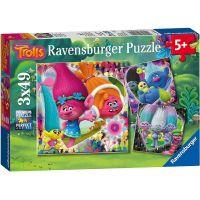 Ravensburger puzzle 080557 Trolové 3x49 dílků