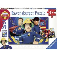 Ravensburger puzzle 090426 Požárník Sam 2x24 dílků