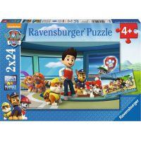 Ravensburger puzzle 090853 Tlapková patrola Dobrý skutek 2x24 dílků