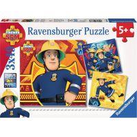 Ravensburger puzzle 093861 Zavolej Sama v nouzi 3x49 dílků