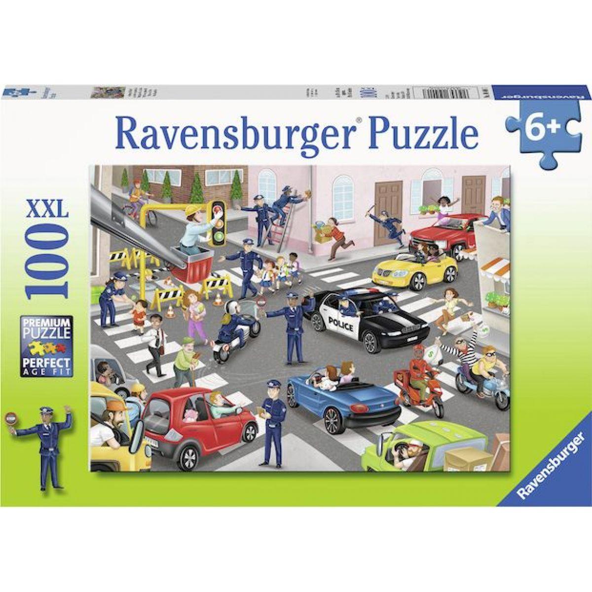 Ravensburger puzzle 104017 Polícia na hliadke 100 XXL dielikov