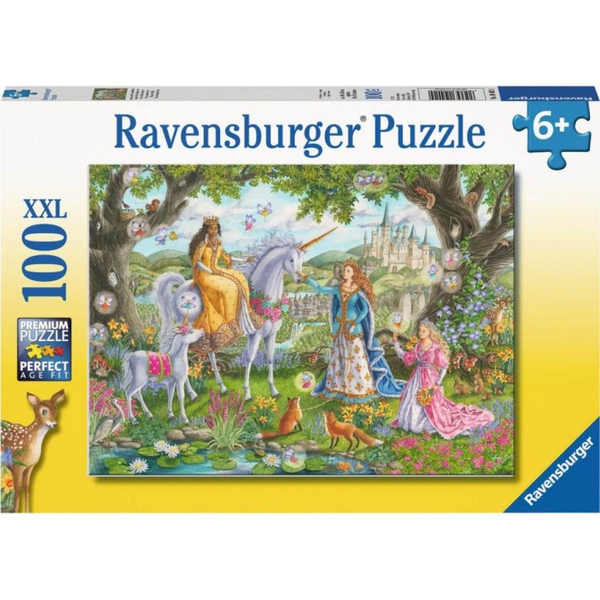 Ravensburger puzzle 104024 Párty princezien 100 XXL dielikov