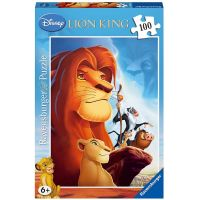 Ravensburger Puzzle Disney Leví kráľ 100 XXL dielikov