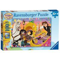 Ravensburger Puzzle 107506 Disney zamotaný 100 XXL dielikov