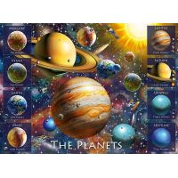 Ravensburger puzzle 108534 Planéty 100 XXL dielikov
