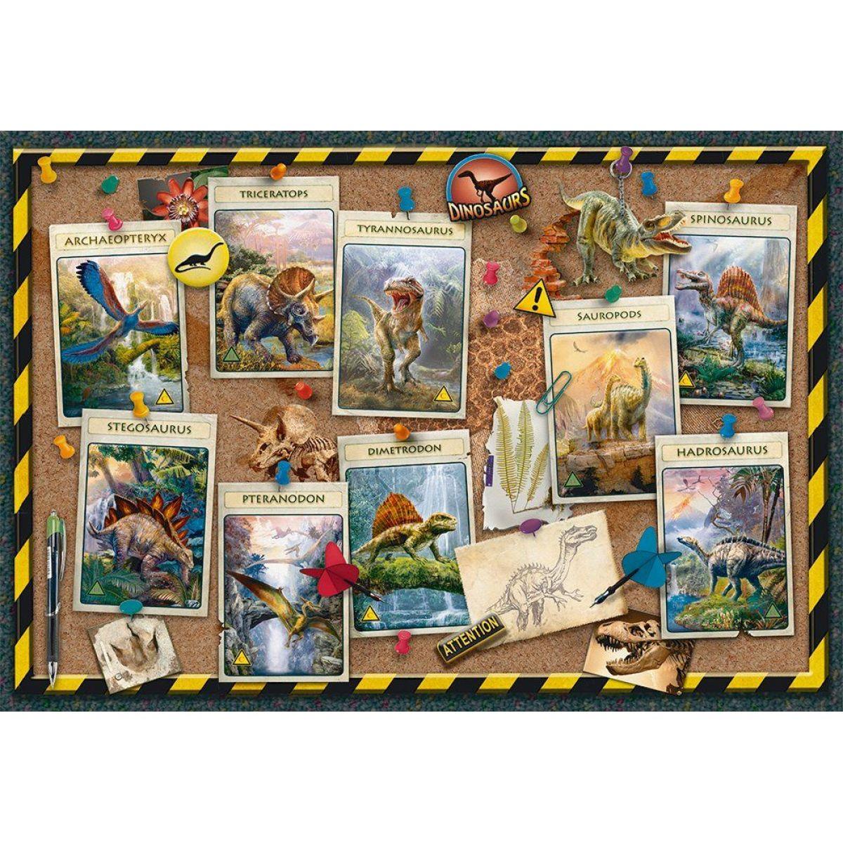 Ravensburger puzzle 108688 dinosaur kolekcie 100 XXL dielikov