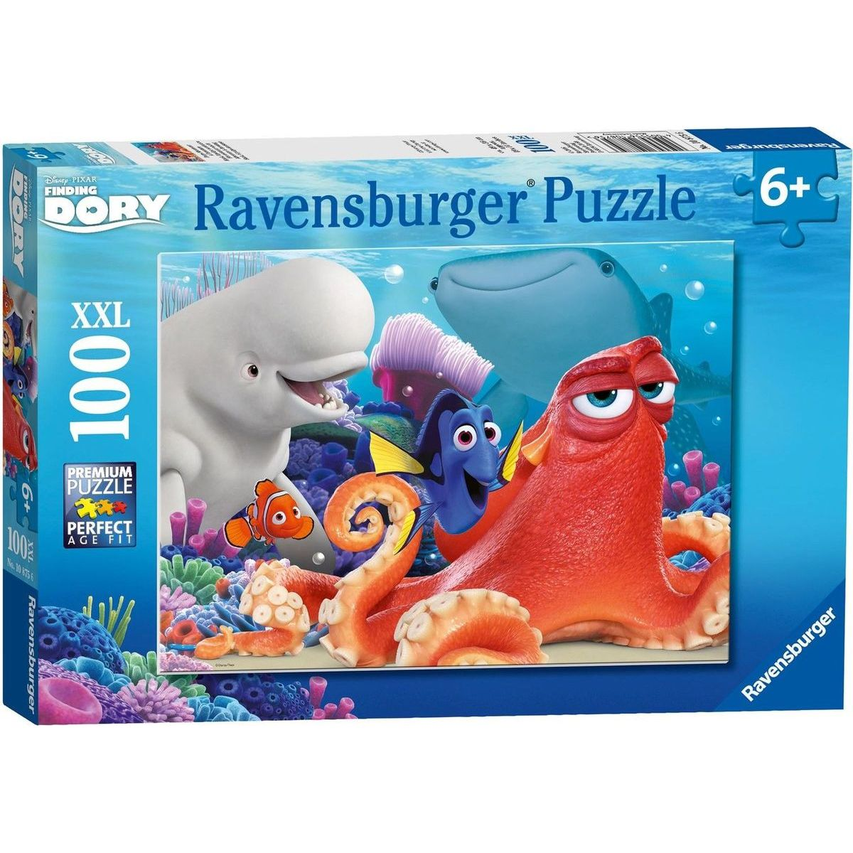 Ravensburger puzzle 108756 Finding Dory 100 XXL dielikov