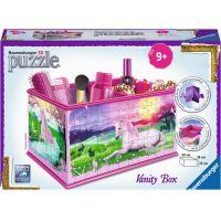 Ravensburger puzzle 121014 Úložná krabice Jednorožec 216 dílků