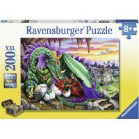 Ravensburger puzzle 126552 Královna draků 200 XXL dílků