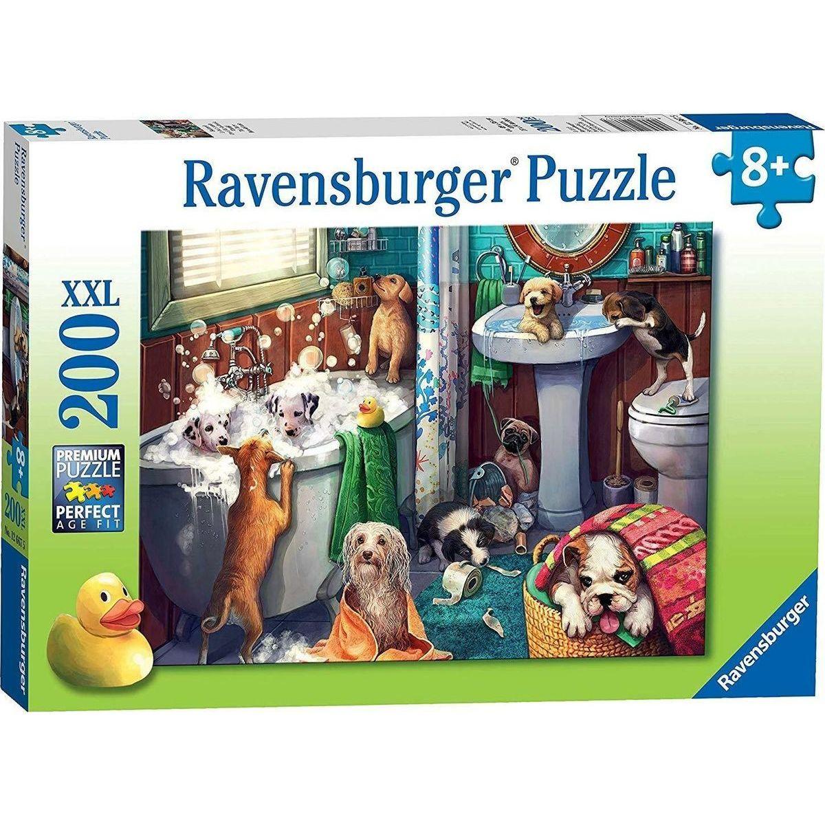 Ravensburger puzzle 126675 Psie kúpeľ 200 XXL dielikov