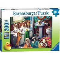 Ravensburger puzzle 126675 Psí koupel 200 XXL dílků
