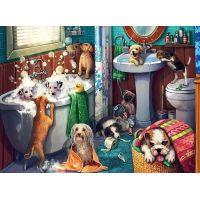 Ravensburger puzzle 126675 Psie kúpeľ 200 XXL dielikov 2