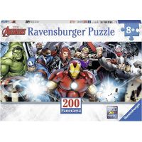 Ravensburger puzzle 127375 Tým superhrdinů 200 dílků