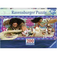 Ravensburger Disney Vaiana: Dobrodružstvo Moany 200 dielov Panorama