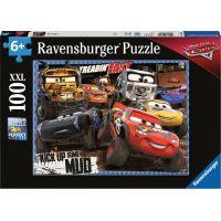 Ravensburger puzzle 128457 Disney Auta 3 V bahně 100 XXL dílků