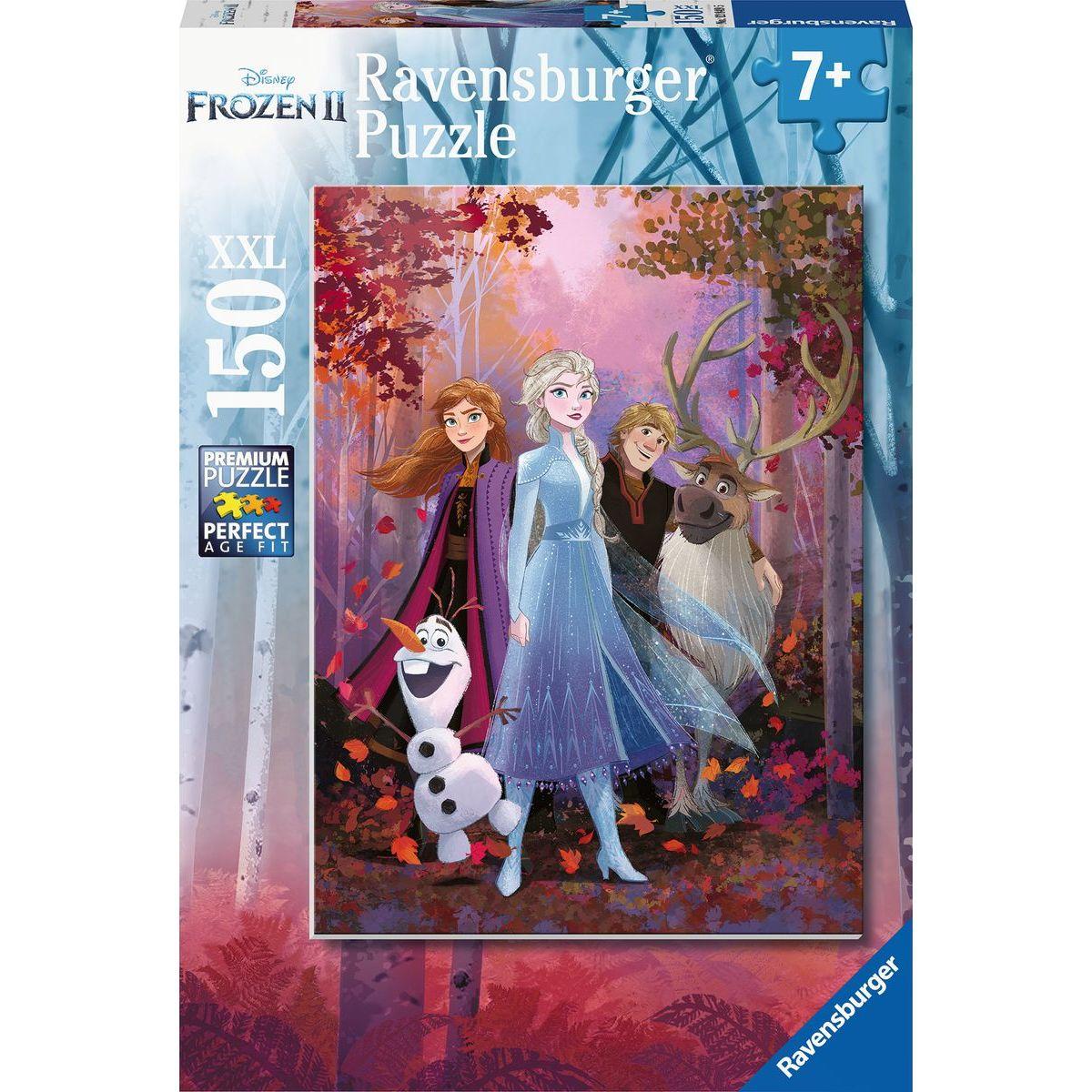 Ravensburger puzzle 128495 Disney Ľadové kráľovstvo 2 150XXL dielikov