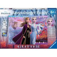 Ravensburger puzzle 128686 Disney Ledové království 2 100 dílků Třpytivé puzzle