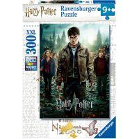 Ravensburger puzzle 128716 Harry Potter spolu v boji 300 dílků