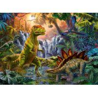 Ravensburger puzzle 128884 V ríši dinosaurov 100 XXL dielikov 2
