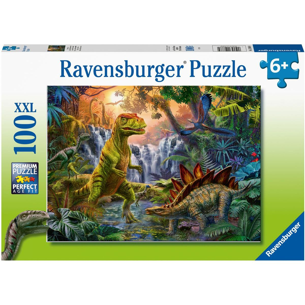 Ravensburger puzzle 128884 V ríši dinosaurov 100 XXL dielikov