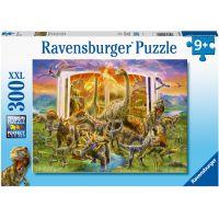 Ravensburger puzzle 129058 Encyklopédia dinosaurov 300 XXL dielikov