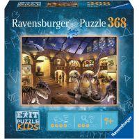 Ravensburger puzzle 129256 Exit Kids Puzzle Noc v múzeu 368 dielikov