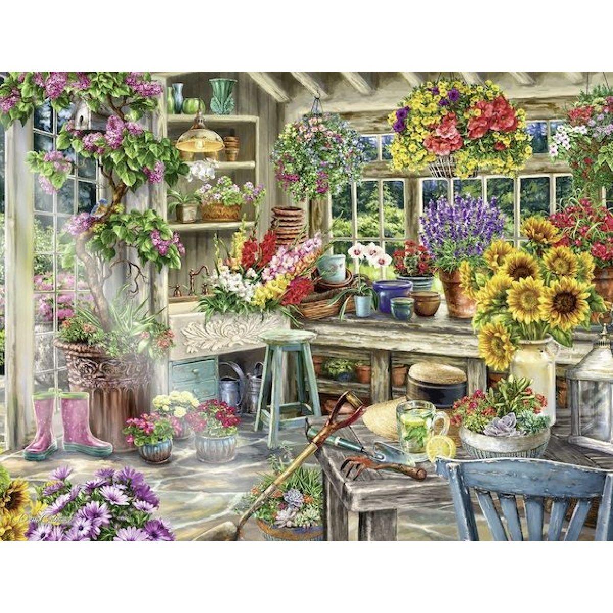Ravensburger puzzle 139965 Zahradníkův raj 2000 dielikov