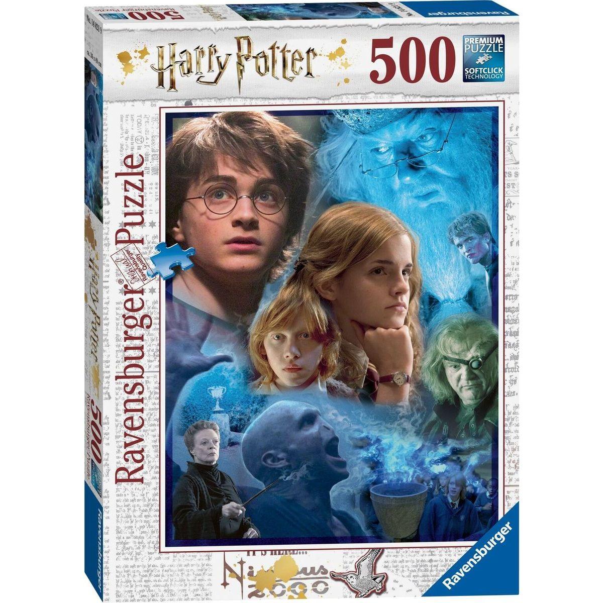Ravensburger puzzle 148219 Harry Potter v Rokforte 500 dielikov