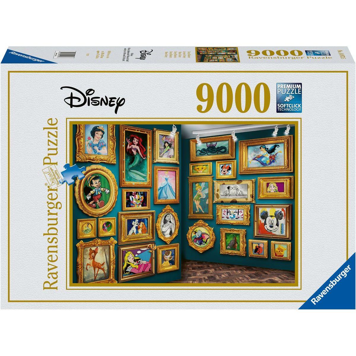 Ravensburger puzzle 149735 Disney múzeum 9000 dielikov