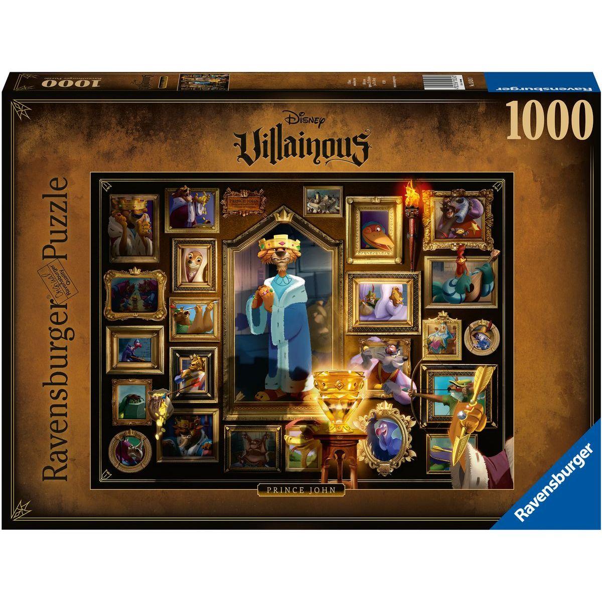 Ravensburger puzzle 150243 Padouchové Kráľ Jan 1000 dielikov