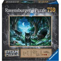 Ravensburger puzzle 150281 Exit puzzle: Vlk 759 dielikov