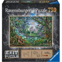 Ravensburger puzzle 150304 Exit Puzzle Jednorožec 759 dielikov