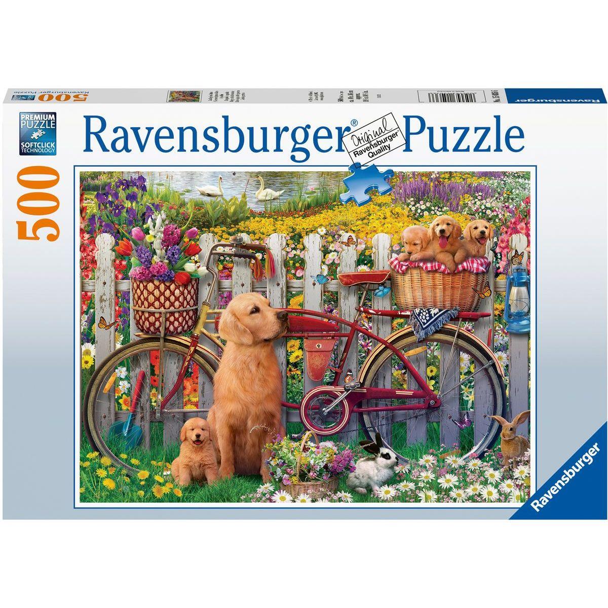 Ravensburger puzzle 150366 Roztomilí psy 500 dielikov